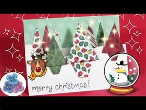 Tarjetas de Navidad Scrapbook en 3D origianels y creativas