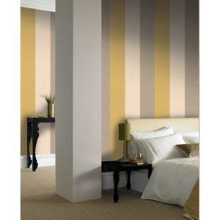 graham brown bold stripe wallpaper mustard