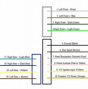 Radio Wiring Harness Diagram