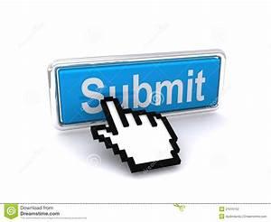 Submit button stock illustration. Illustration of sign ...