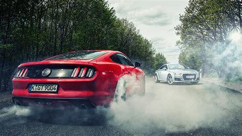 Twin Test Ford Mustang Vs Audi Tt