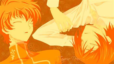 hd wallpaper manga couple orange