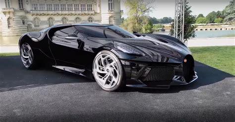 Bugatti La Voiture Noire: A Look at the World's Most ...