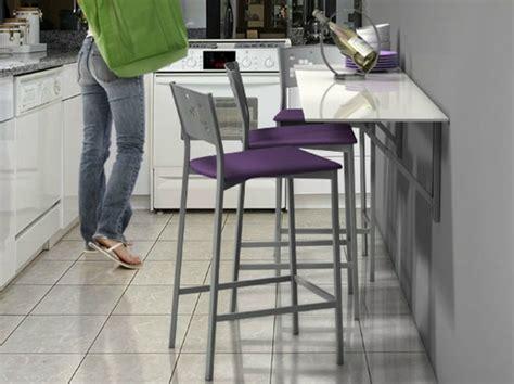 petit table de cuisine table murale pour une cuisine plus sympa
