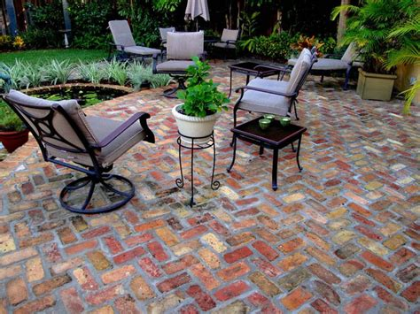 concrete pavers clay brick paver driveways st