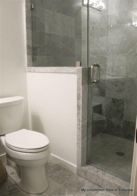 bathroom remodel tiny bathrooms bathroom pony wall
