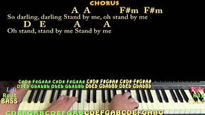 Stand By Me  Ben E King  Piano Cover Lesson With Chords