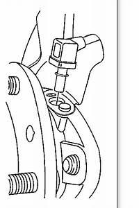 2004 Chevrolet Trailblazer Rear Wheel Speed Sensor  Where
