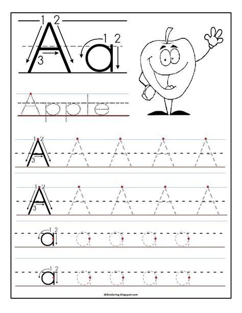 printable worksheet letter    child  learn