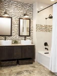 mosaic bathroom tile ideas 40 brown mosaic bathroom tiles ideas and pictures