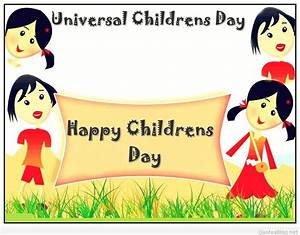 Happy children's day cards quotes and messages