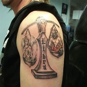 30 Extraordinary Libra Tattoo Designs & Meaning
