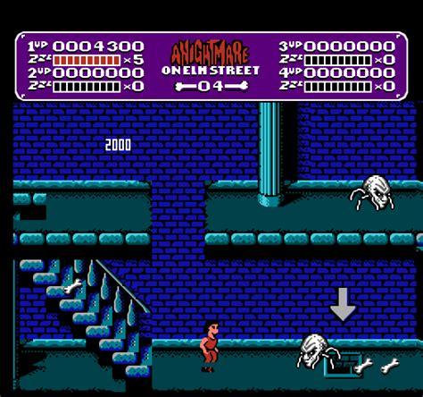 nightmare  elm street  game gamefabrique