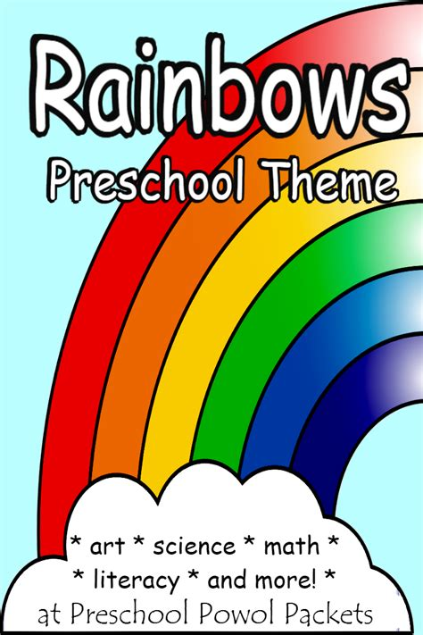 rainbow science projects and activities for a rainbow 464 | rainbow theme for preschool