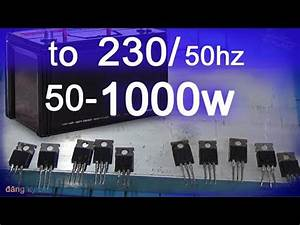 Circuit Diagram 1000 Inverter 50hz 12v To 220v Inverter