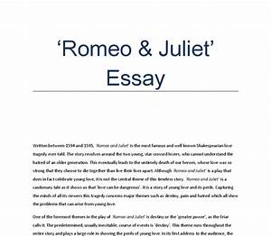Romeo Juliet Essay Dissertation Literature Review Example Romeo And  Excellent Introductions For A Romeo And Juliet Essay Paper Back Writer  Lyrics Rewriting Service also English Persuasive Essay Topics  Old English Essay