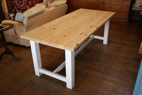 farmhouse style table  wooden workshop oakford devon