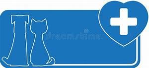 Biglietto Da Visita Veterinario Con Il Cane Il Gatto Ed