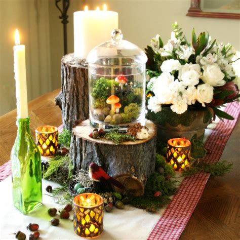 bunches  bits woodland party decorations