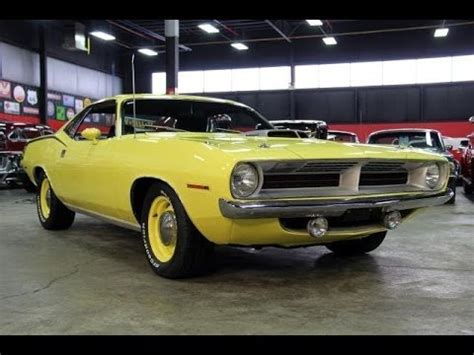 plymouth cuda test drive classic muscle car  sale