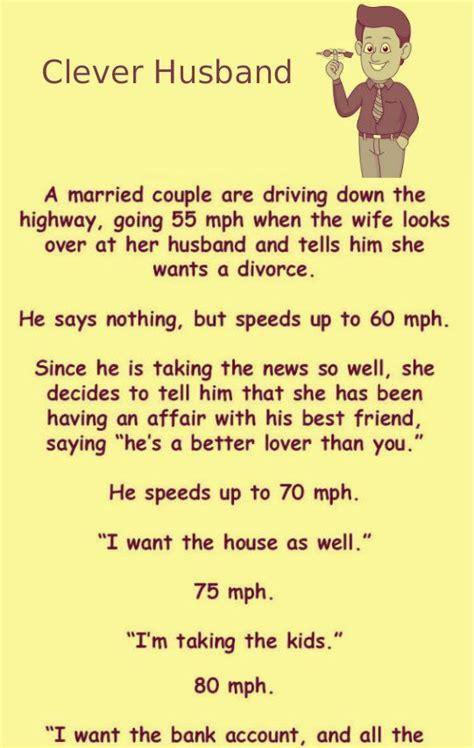 cleaver husband husband wife funny joke