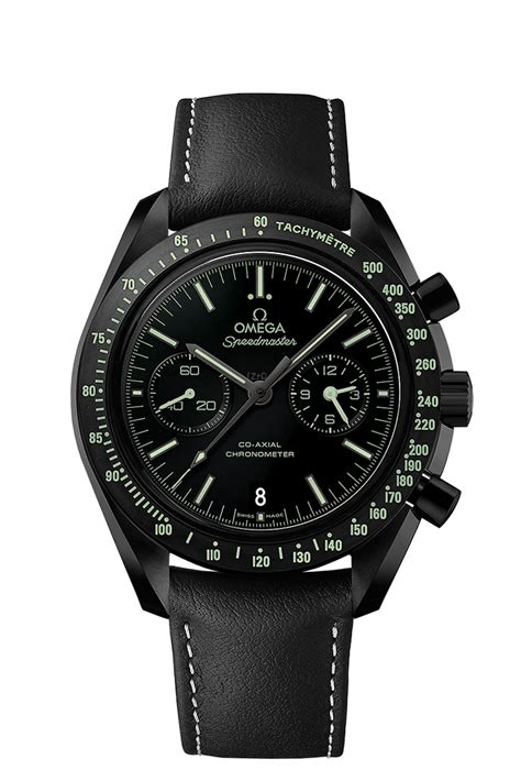 four new omega side of the moon watches watchpaper