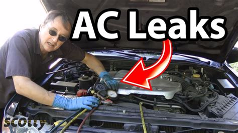 auto air conditioning repair 2002 ford f series interior lighting automotive air conditioning leak repair youtube