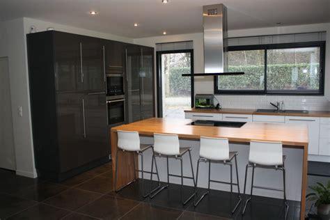 cuisine moderne avec ilot les projets implantation de vos cuisines 8778 messages