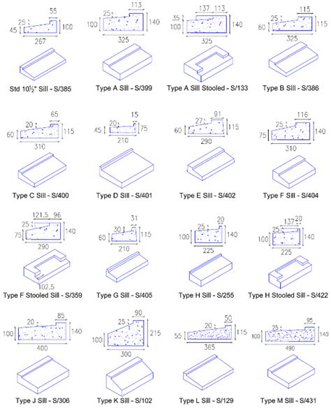 Types Of Window Sills by Precast Concrete Window Sills The Widest Range Is Here