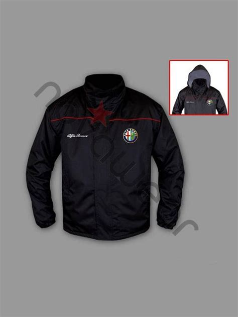 alfa romeo fan windbreaker jacket
