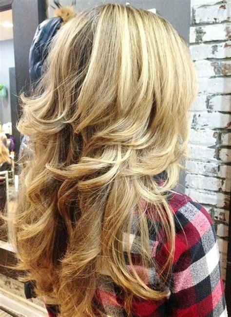 layered hairstyles  thick hair  pretty
