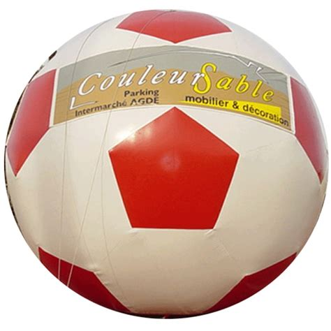 le ballon de foot structure gonflable quot ballon de foot quot n 176 104 animations gonflables