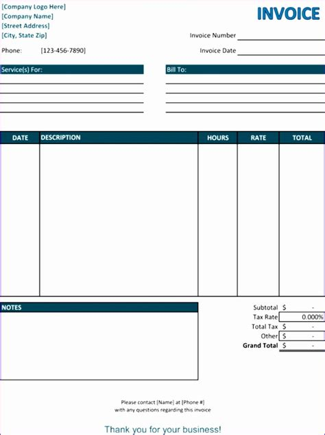 customer invoice template excel exceltemplates