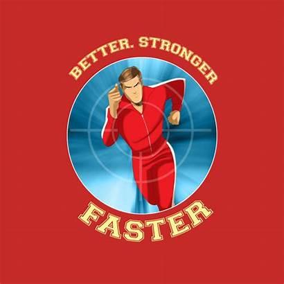 Faster Stronger Better Bionic Shirt 40k Sight