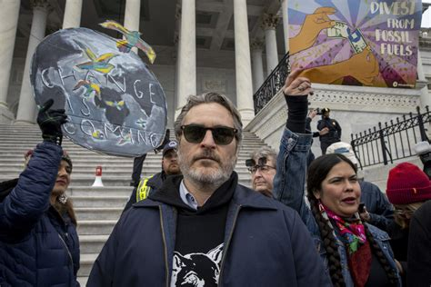 Joaquin Phoenix and More Arrested For Climate Change ...