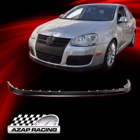 05 10 style black front bumper lip spoiler for vw