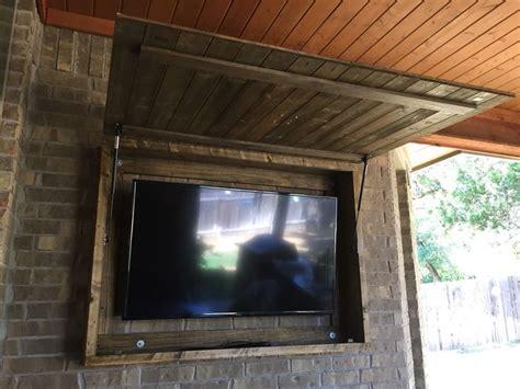 outdoor tv wall mount cabinet outdoor tv cabinet outdoor tv cabinet pinterest