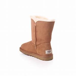 UGG Womens Ugg Australia Bailey Button Ugg Boot Chestnut ...