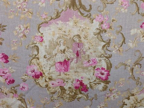 Curtain Fabric Designer Light Upholstery Cameo French