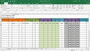 salary increase template excel compensation metrics With salary sheet template in excel