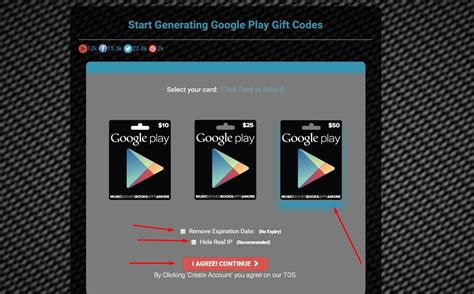 fake google play gift card codes