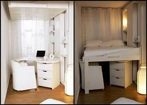 Teenager Zimmer Kleiner Raum : hochbetten f r erwachsene gute idee f r kleine wohnung ~ Markanthonyermac.com Haus und Dekorationen