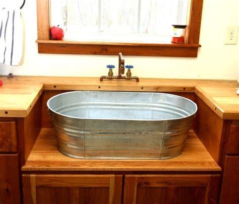 custom kitchen sinks bathroom vanities custom bathrooms and galvanized tub on 3065