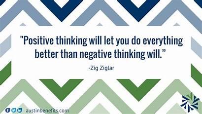 Positive Thinking Negative Quotes Ziglar Zig Everything