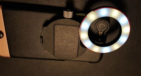 ring light for iphone ztylus iphone 6 plus lens and ring light review