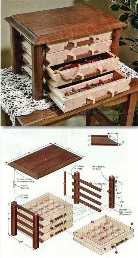 jewelry box plans ideas  pinterest wooden box