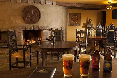 Tavern Pub Medieval Wallpapers Cave Interior Decor