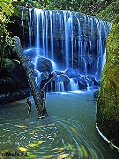 Animated Waterfall Wallpapers For Mobile - free blue waterfall mobile wallpaper contributed
