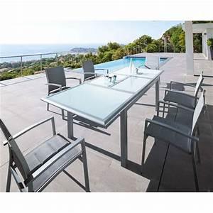 Mobilier De Jardin Hesperide : table rectangle azua extensible blanc hesp ride achat ~ Dailycaller-alerts.com Idées de Décoration