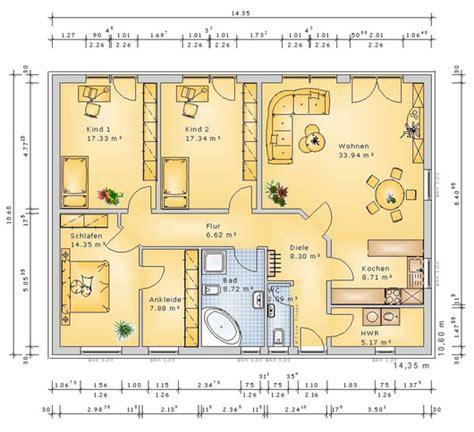 Bungalow 5 Zimmer Grundriss by Bungalow Grundriss 5 Zimmer Nk 455